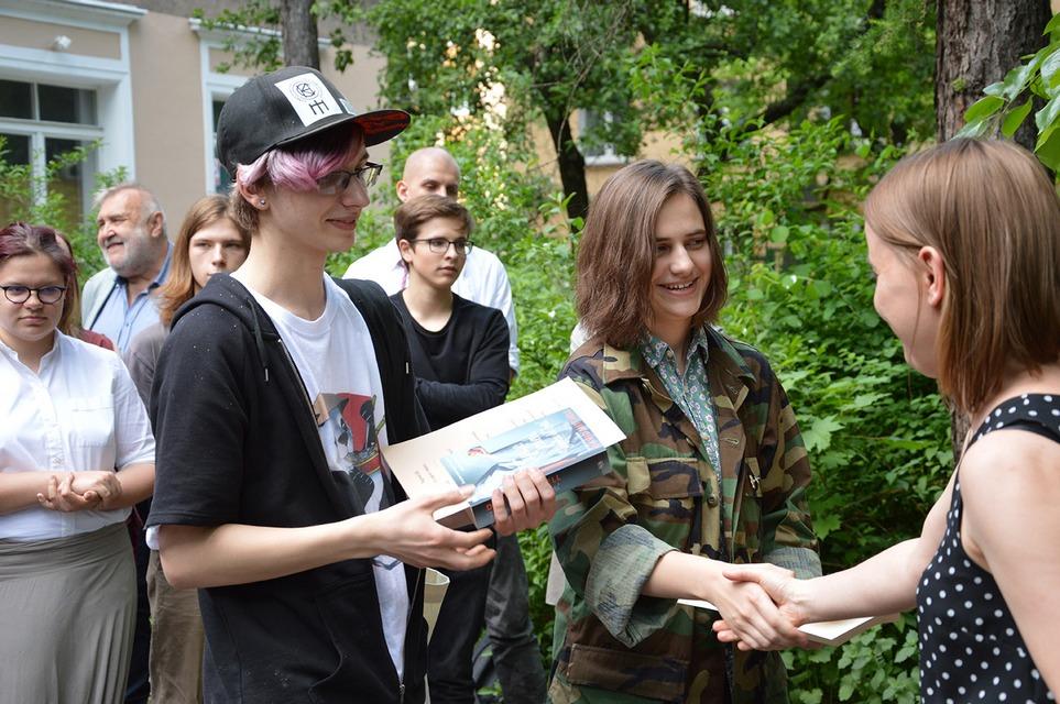 Julia i Wojtek – twórcy zwycięskiego opowiadania!