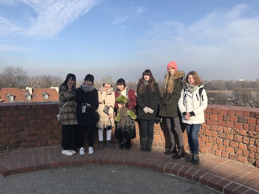 Wizyta uczniów z Osaki